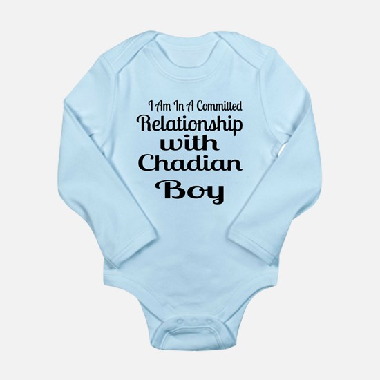 I Am In Relationship W Long Sleeve Infant Bodysuit