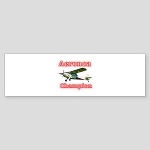 Aeronca Champion Bumper Sticker