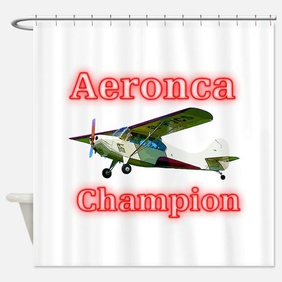 Aeronca Champion Shower Curtain