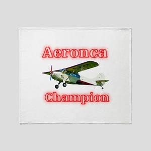 Aeronca Champion Throw Blanket