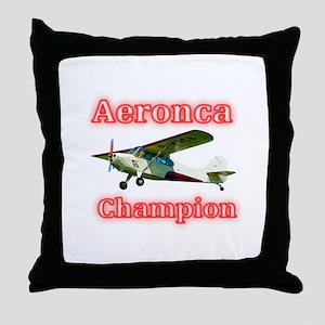 Aeronca Champion Throw Pillow