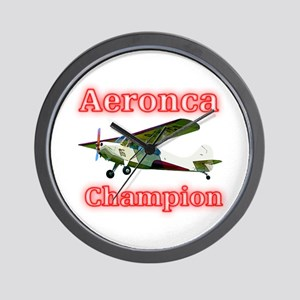 Aeronca Champion Wall Clock