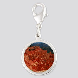 Bryce Canyon National Park Silver Round Charm