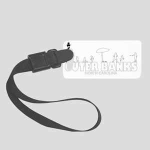 FFHSband-shirtwhite Small Luggage Tag