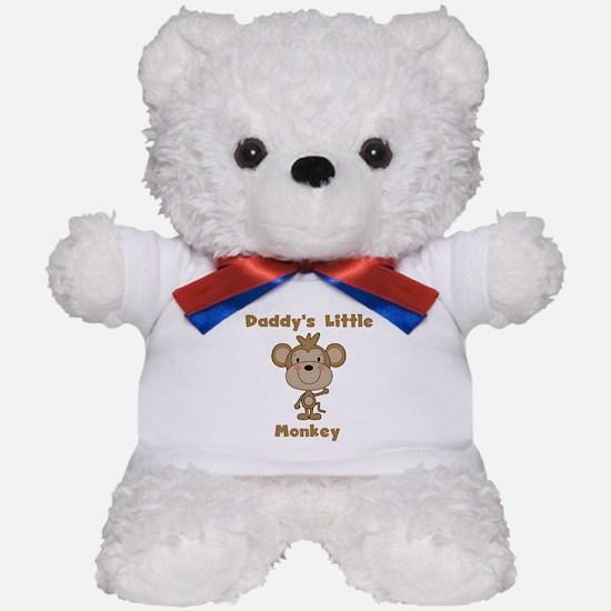 Daddy's Little Monkey Teddy Bear