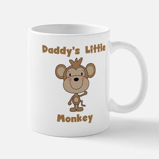 Daddy's Little Monkey Mug