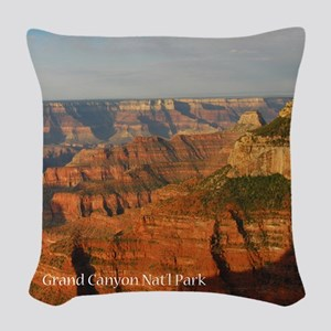 Grand Canyon Woven Throw Pillow