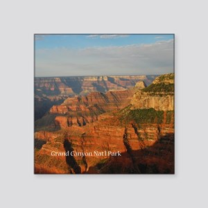 "Grand Canyon Square Sticker 3"" x 3"""