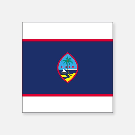 Guam Rectangle Sticker