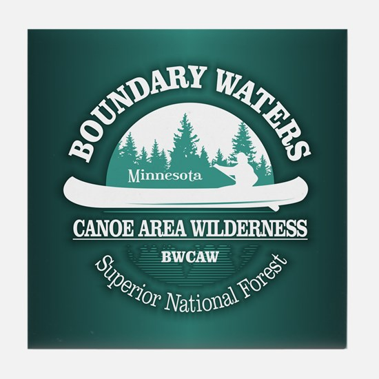 Boundary Waters Tile Coaster