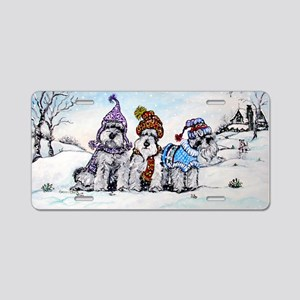 Christmas 8x12 Aluminum License Plate