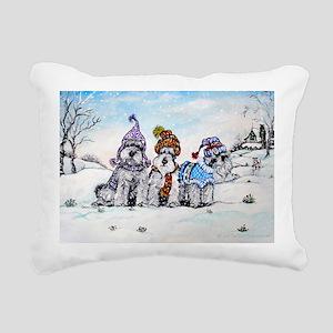 Christmas 8x12 Rectangular Canvas Pillow