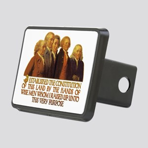 Wise Men Raised for this P Rectangular Hitch Cover