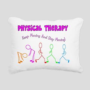 Physical Therapy Rectangular Canvas Pillow