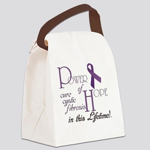 Power-of-Hope-logo Canvas Lunch Bag