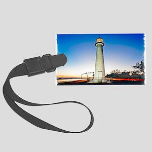 Biloxi Lighthouse Large Luggage Tag