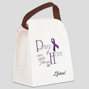 Power-of-Hope-custom-name-logo Canvas Lunch Bag