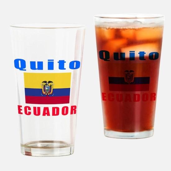 Quito Ecuador Designs Drinking Glass