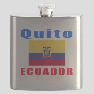 Quito Ecuador Designs Flask