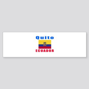 Quito Ecuador Designs Sticker (Bumper)