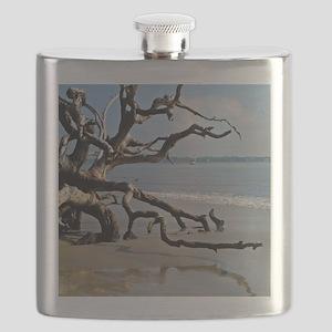 Driftwood Beach Flask