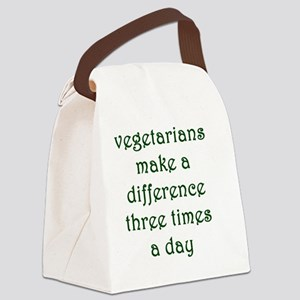 vegthree Canvas Lunch Bag