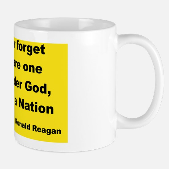 IF WE EVER FORGET THAT WE ARE ONE NATIO Mug