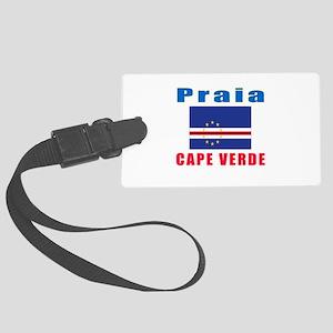 Praia Cape Verde Designs Large Luggage Tag