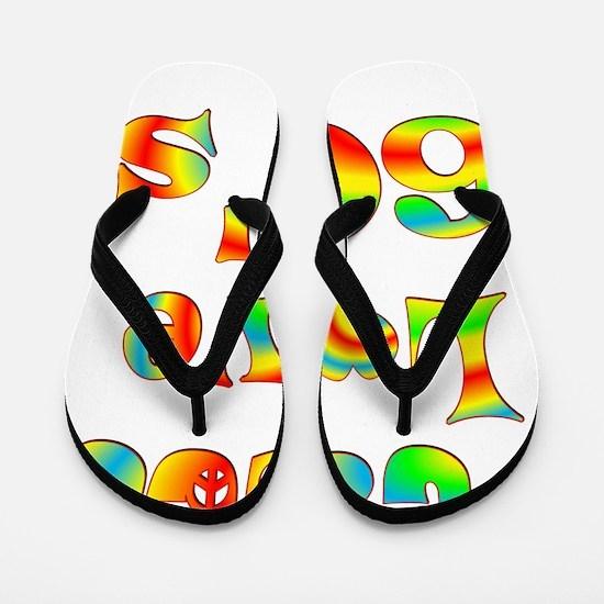 6-60s Flip Flops