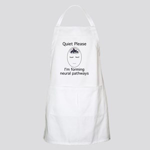 2-quietplease1 Apron