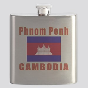 Phnom Penh Cambodia Designs Flask