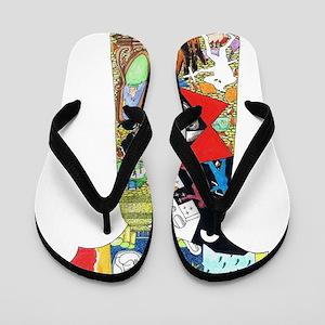 15e924bfdc97 Genesis Flip Flops - CafePress