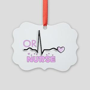 OR Nurse Picture Ornament