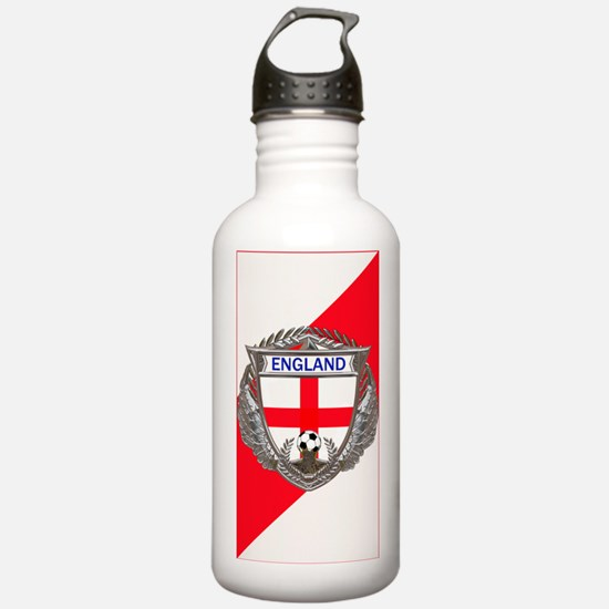 English Soccer Water B Water Bottle