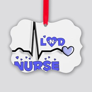Labor  Delivery Nurse Picture Ornament