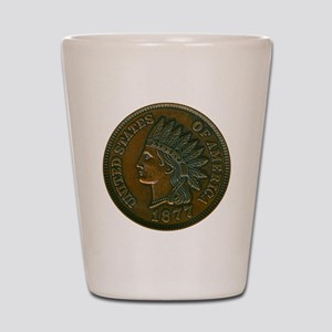 pennyIndian-C8trans Shot Glass