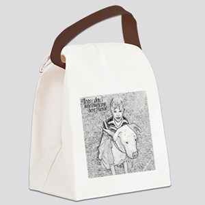 JJandBustersketch Canvas Lunch Bag