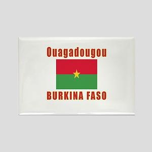 Ouagadougou Burkina Faso Designs Rectangle Magnet
