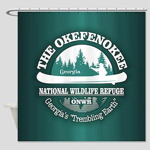 Okefenokee Shower Curtain