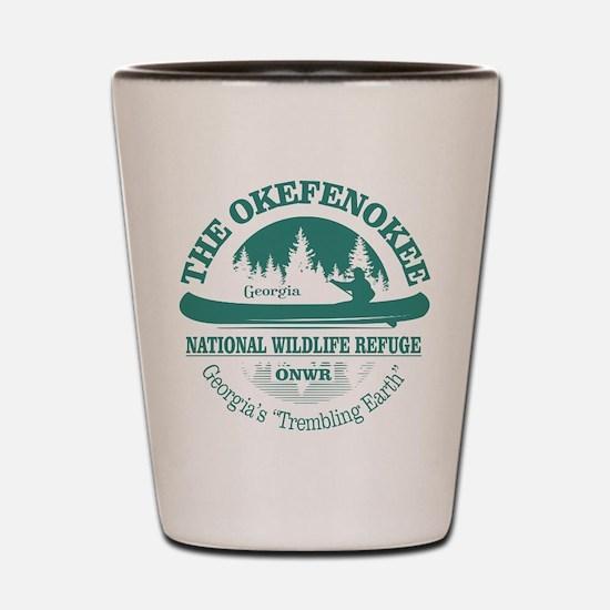 Okefenokee Shot Glass
