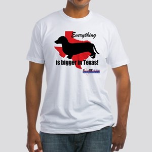 Everything is bigger Fitted T-Shirt
