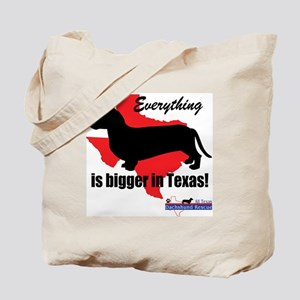 Everything is bigger Tote Bag