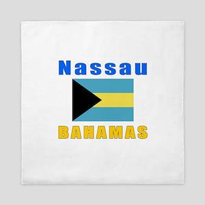 Nassau Bahamas Designs Queen Duvet