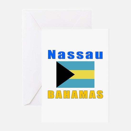 Nassau Bahamas Designs Greeting Card