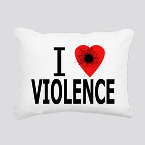 iHeartViolence Rectangular Canvas Pillow