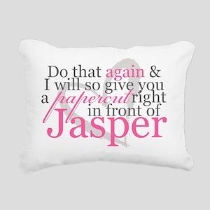 paprcutw Rectangular Canvas Pillow