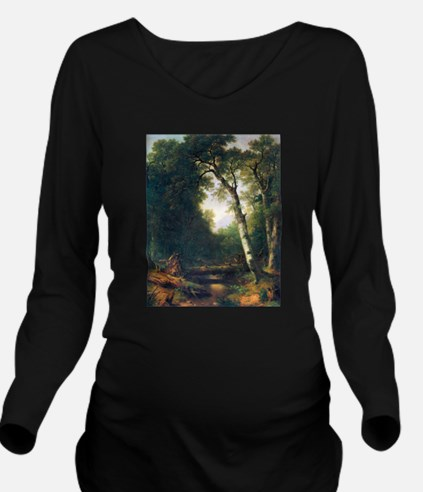 A creek in the woods Long Sleeve Maternity T-Shirt