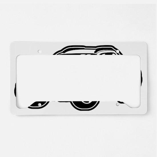 baja_white_2 License Plate Holder