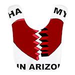 Heart In Arizona Bib