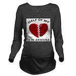 Heart In Arizona Long Sleeve Maternity T-Shirt